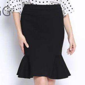 Kate Hill Skirts - Kate Hill Petite Full Bloom Fishtail Skirt